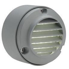 Semi incasso con griglia tondo (route) 230v alluminio