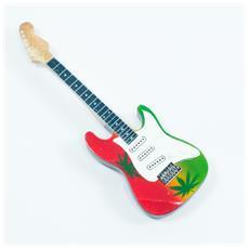Magnete forma chitarra - Marijuana Theme