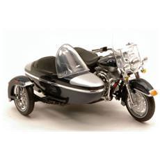 Harley Davidson Flhrc Road King Classic Sidecar 1:18 Modello Collezione Hd Custom