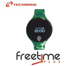 "Smartwatch FreeTime Camouflage 2 Display 0.66"" Bluetooth - Italia"
