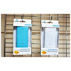 COO-PB6K-WH, Polimeri di litio (LiPo) , USB, Bianco, Micro-USB, Gomma, Universale