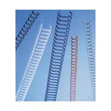 Spirali metalliche WireBind nero 8 mm (100)