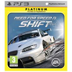 PS3 - Need For Speed Shift Platinum