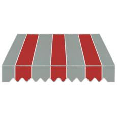 Tenda da Sole a Caduta per Balcone 200x250 H cm Struttura in Alluminio