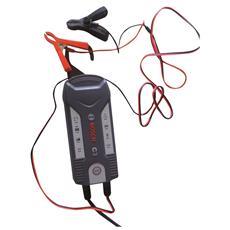 Caricatore Automatico Per Batterie 6/12v Con Funzione Mantenimento Carica