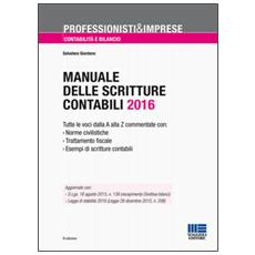 Manuale delle scritture contabili
