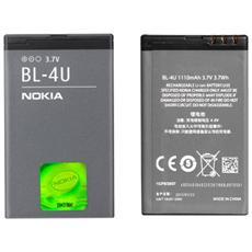 Batteria 1200mah 3.7v 4.4wh Bl-4u Per Nokia 6600 5730