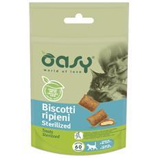 Snack Cat Biscotti Ripieni Sterilized 60gr