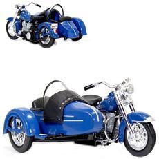 Harley Davidson Fl Hydra Glide 1952 Classic Sidecar 1:18 Mod. collezione