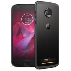 "Moto Z2 Force Nero 64 GB 4G / LTE Display 5.5"" Quad HD Slot Micro SD Fotocamera 12 Mpx Android Tim Italia"