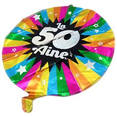 Sfera Di Metallo '50 Ans' Tutti Frutti - 45 Cm - [ p5355]