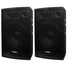 Coppia Di Diffusori 2 X 700 W Sound Ibiza Disco-15b
