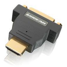 GHDMDVIF, HDMI, DVI-D, Maschio / femmina, Nero, RoHS