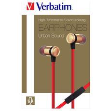 """44401, Stereofonico, 3.5 mm (1/8"""") , Interno orecchio, Oro, Cablato, Intraurale"""