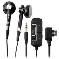 Auricolare Stereo con Remote Control - Nero