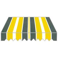 Tenda da Sole a Caduta per Balcone 300x250 H cm Struttura in Alluminio