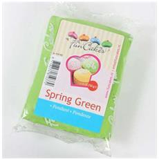 Pasta di zucchero spring green 250gr