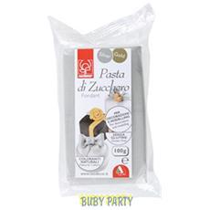 Pasta Di Zucchero Modellabile Argento 100g