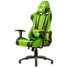 Sedia Gaming Chair Taurus P2 Nero Verde