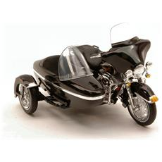 Harley Davidson Flht Electra Glide 1998 Classic Sidecar 1:18 Mod. Collez.