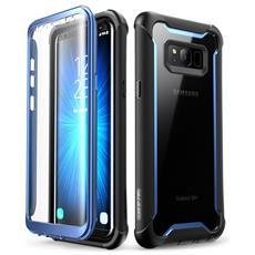 Cover Samsung Galaxy S8+ Plus [ full-body Rugged] Massima Protezione - Custodia Con Protezione Dello Schermo Integrata Per Samsung Galaxy S8+ Plus (2017) (nero / Blu)