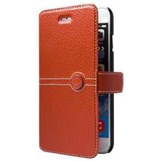 """FACOSELV2IP65O 5.5"""" Custodia a libro Arancione custodia per cellulare"""