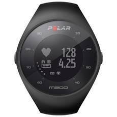 Sportwatch M 200 con GPS Bluetooth Cardiofrequenzimetro Colore Nero