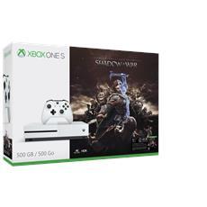 Console Xbox One S 500 Gb + L'Ombra della Guerra Limited Bundle