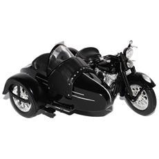Harley Davidson Fl 1948 Classic Sidecar 1:18 Hd Custom Mod. da Collezione