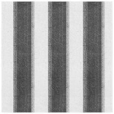 Tenda A Rullo Per Esterni A Strisce 400x140 Cm Antracite Bianco