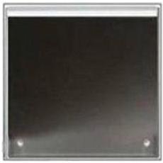 Coperchio per Piano Cottura in Acciaio da 60 cm Colore Nero