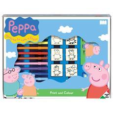 Valigiotto 7 Timbri + 12 Pennarelli Peppa Pig 4875