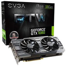 EVGA - GeForce GTX 1080 8 GB GDDR5X Pci-E DisplayPort x 3...