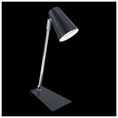 92862 Travale Lamp. Tavolo 1lx2,5w Gu10 Led Cromo / antracite