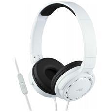 HA-SR525-W, Stereofonico, Padiglione auricolare, Bianco, Cablato, Sovraurale, 10 - 25000 Hz