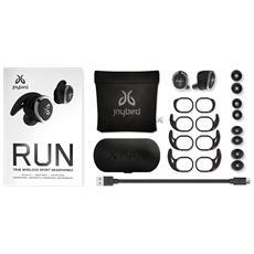 Run Auricolare Stereofonico Senza fili Bianco auricolare per telefono cellulare