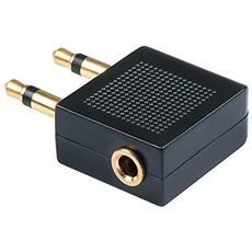 35626 2 x 3.5mm 3.5mm Nero cavo di interfaccia e adattatore