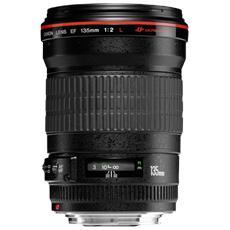 CANON - Obiettivo EF 135 mm / f 2.0 USM Attacco Canon EF