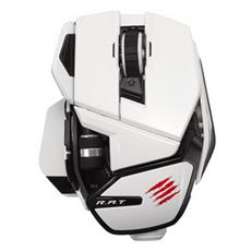 Office R. A. T. M Bluetooth Laser Bianco mouse