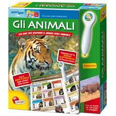 Gli animali. Libri pennaquiz. Con gadget