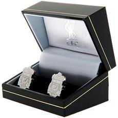 Gemelli In Acciaio Inox Con Stemma Uomo (taglia Unica) (argento)