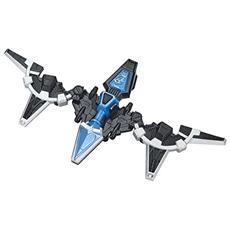 43574ninja Acciaio Mega Morph Cycle With Blue Ranger