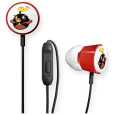 Angry Birds Space Deluxe Tweeters, Intraurale, Interno orecchio, Chiuso, Cablato, Nero, 132 x 98 x 22 mm