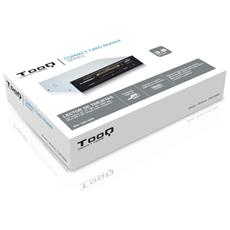 TQR-208B, CF, Memory Stick (MS) , MicroSD (TransFlash) , MS Micro (M2) , SD, SDHC, SDXC, USB 2.0, Nero, Argento