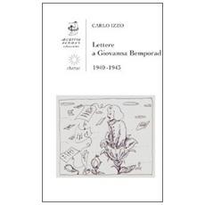 Lettere a Giovanna Bemporad. 1940-1943