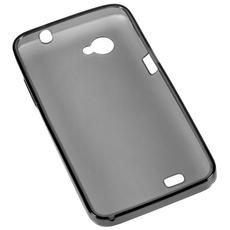 Bum20 Nero Cover Custodia Silicone Per Smartphone Nyx20 + Pellicola