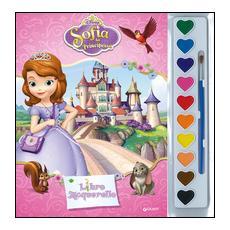 Sofia la principessa. Libro acquerello. Con gadget