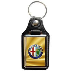 Portachiavi In Eco Pelle Alfa Romeo (4° Versione)