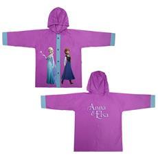 Impermeabile Mantellina Frozen Elsa Anna Taglia 4 4-5 Anni Disney Antipioggia Anti Pioggia Bimba Bambina