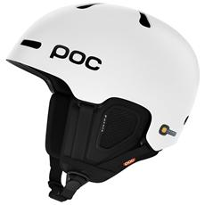 Fornix, Snowboard / Ski, Opaco, Bianco, Expanded polystyrene (EPS) , XS / S, Regolabile